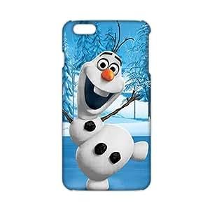 Evil-Store Frozen happy snow doll 3D Phone Case for iPhone 6 plus