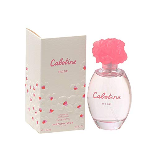 Cabotine Rose FOR WOMEN by Parfums Gres – 3.4 oz EDT Spray