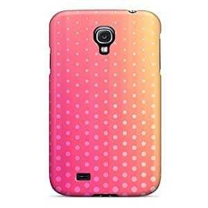 For Galaxy S4 Fashion Design Light Pink Dots Case-BNO4479WoSE