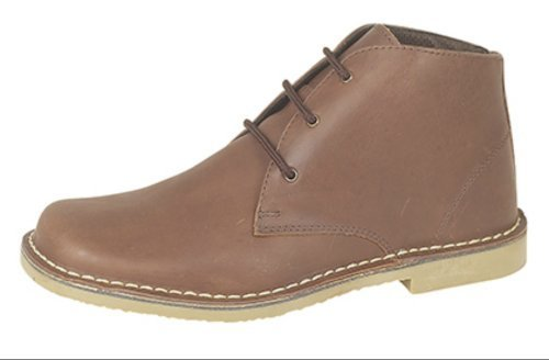 Roamer lustré Bottines chukka adulte mixte Marron r8rvT
