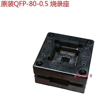 Test Adapter OTQ-80-0.5-02 Ngkc3C The Original Japanese LQFP//QFP80 0.5 seat Burning//Programming