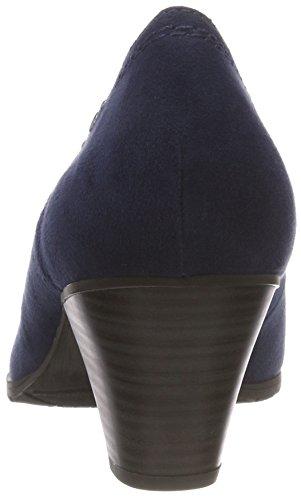 Navy Tacco 805 21 con Scarpe Donna 22461 Blu Softline qfw0OO