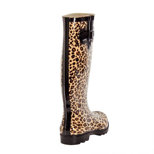 Forever Womens Boot Animal Wellie Rain Young ppxrSnP