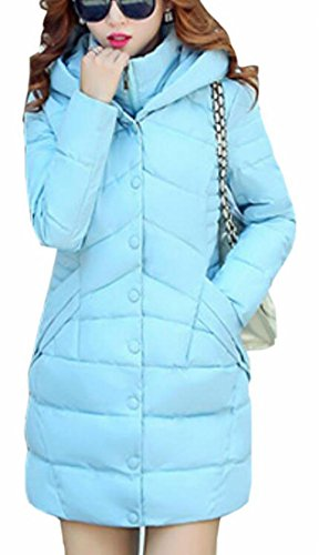 Puffer Womens today Solid Pocket Padding Coats UK Jacket Quilted Slim 3 Fit OFFw8qBx