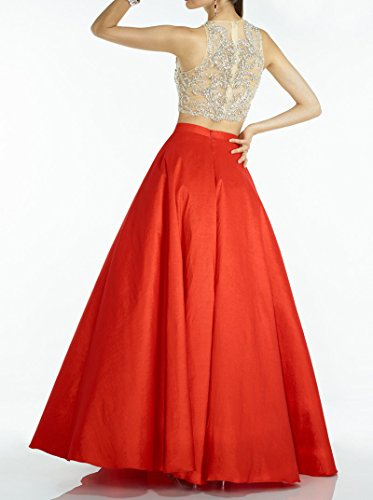 Hot Embellished Party Ball 2 Long BessDress Dresses Prom Bodice Pink Stain Gown Piece BD187 qTw87SUa