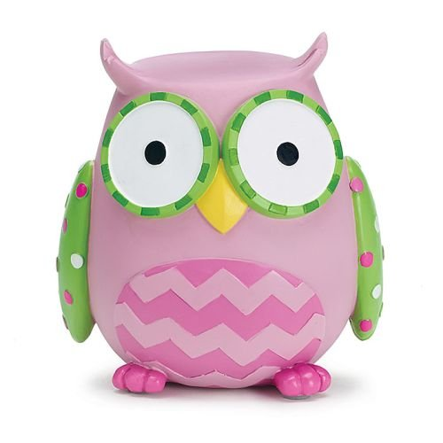 - Burton & Burton Owl Money Savings Piggy Bank Pink