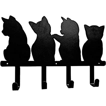 Joeesun Lindo gancho para gato Gancho de hierro Creativo ...