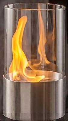 Chimenea de mesa de etanol para decoración de mesa de níquel ...