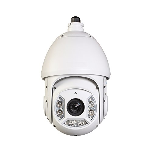 HDView (DH Series) CCTV PTZ Camera,2MP 30X Optical Zoom,Starlight Color Image Day and Night, Ultra-high Speed HDCVI PTZ, 328ft(100m) IR Night Vision, Indoor and Outdoor for Home Security