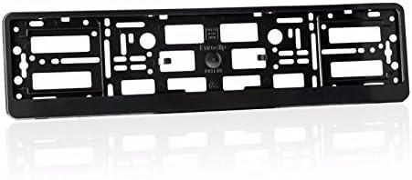 Car Registration License Number Plate Surrounds Holder Frame ALL STYLES BLACK