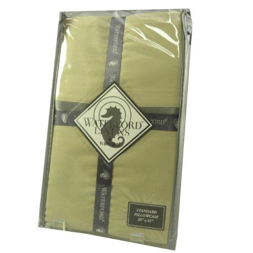 Waterford Kiley Cotton 400TC Pillowcase Set Taupe ()