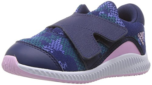 adidas Originals Baby Fortarun Running Shoe, Dark Blue/Clear Lilac/Real Lilac, 8K M US Toddler