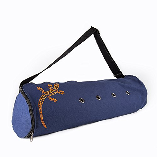Peace Yoga Air Vent Yoga Mat Bag Blue Lizard