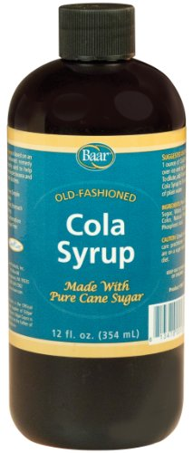 arbonated Cola Syrup with Pure Cane Sugar (No High Fructose Corn Syrup), 12 Oz. ()