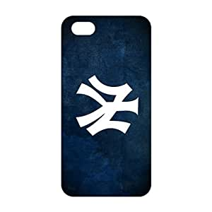 Fortune 3D Case Cover New York Yankees Phone Case for iPhone 5s