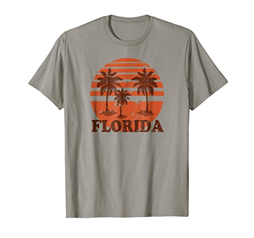 * NEW * 80's Vibe Retro Florida Beach T-shirt - 5 colors - S to 3XL