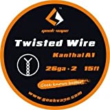 Filo Resistivo GeekVape Twisted Kanthal A1 (26GA*2) 5m