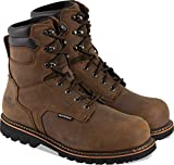 Thorogood 804-3237 Men's V-Series 8' Waterproof, Composite Safety Toe Boot, Brown Crazyhorse - 9.5 W US