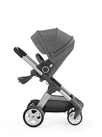 Amazon.com: Cochecito Stokke Crusi, color negro melange: Baby