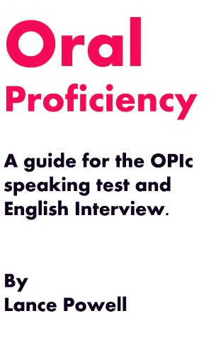 Oral proficiency interview computer sample questions