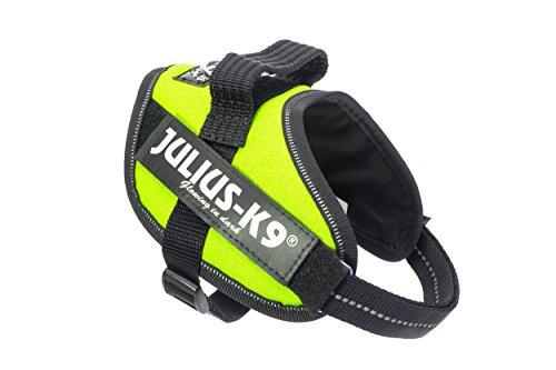 Julius-K9 IDC-Power Harness, Neon Green, Size: Mini-Mini/40-53 cm