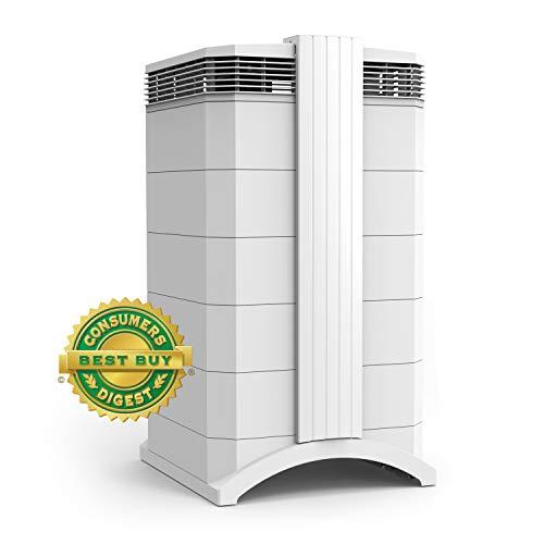 IQAir [HealthPro Plus Air Purifier] Medical-Grade Air [HyperHEPA Filter] - Allergies, Pets, Asthma, Odors, Smoke, Pollen, Dust; Swiss Made