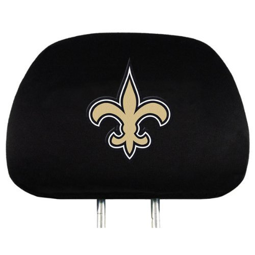 New Orleans Saints 2-pack Auto Head Rest Covers Cover NFL Football PRO
