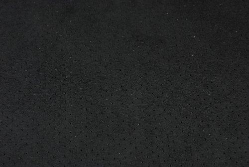 Car Interior Fabrics Alacantara Alicante - Forro para Interior de Coche (Ante Sobre Espuma de Poliuretano, Perforada), Color Negro: Amazon.es: Hogar