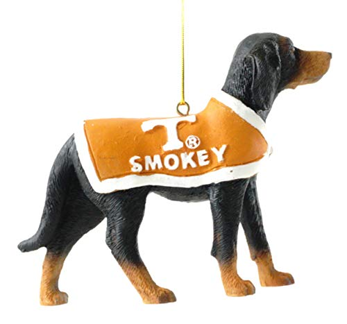 (Smokey Mascot University of Tennessee Hanging Collegiate Ornament)