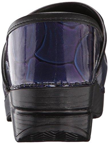 Dansko Mujeres Hibiscus Patent Leather Mule Hibiscus Patent