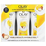 Olay Ultra Moisture Body Wash With Shea Butter, 23.6 Fl Oz X 3 Pack - Total 71 Fl Oz