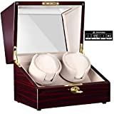 Best Double Watch Winders - CHIYODA Automatic Double Watch Winder with Two Quiet Review
