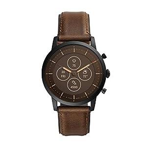 Fossil Collider Hybrid Hr Smartwatch Black Dial Men's Watch – FTW7008