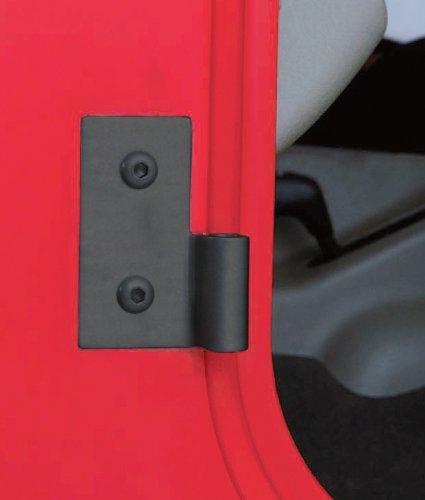 Smittybilt 7607 Black Lower Door Hinge Bracket