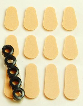 Comfort Kit Sampler Pack Self-adhesive Pads and Hinge Rings - ()