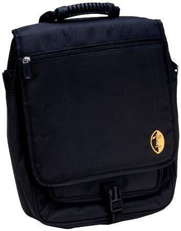 Amazon.com: La bolsa de mensajero Shaka Alta Perfomance del ordenador portátil para músicos y DJs (Killer Bee Negro) SLM-KB: Electronics