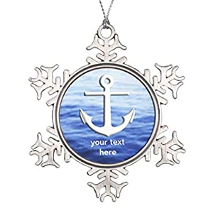 41o6AwWVDtL._SS300_ 75+ Anchor Christmas Ornaments