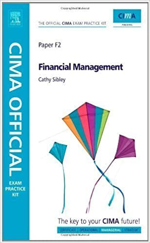 Book CIMA Official Exam Practice Kit Financial Management 5th (fifth) Revised Edition by Rodgers published by CIMA (2009)