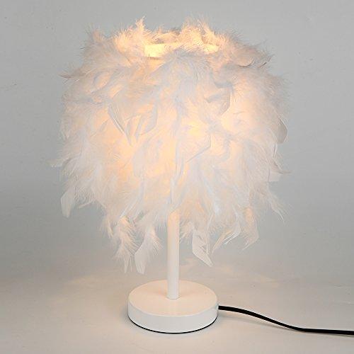 Élégant Lampes off Elinkume® De Jour Plumes Plume 80 ChevetAbat mNnw8Ovy0