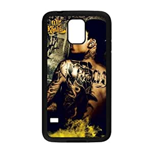 YUAHS(TM) New Cell Phone Case for SamSung Galaxy S5 I9600 with Wiz Khalifa YAS348863