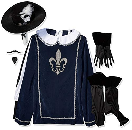 Smiffys Musketeer Male Costume, with Top, ()
