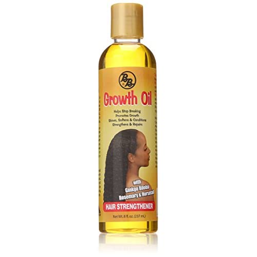 New Bronner Brothers Growth Oil Hair Strengthener, 8 Ounce for sale
