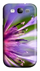 covers good purple pink flower macro PC case/cover for Samsung Galaxy S3 I9300