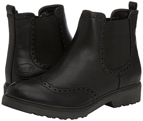 Dockers 37KE203 - botas de combate de material sintético mujer negro - negro