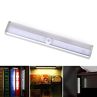 Led Sensor Lichter Unter Kabinett Regal Schrank Nachtlicht Stick Auf