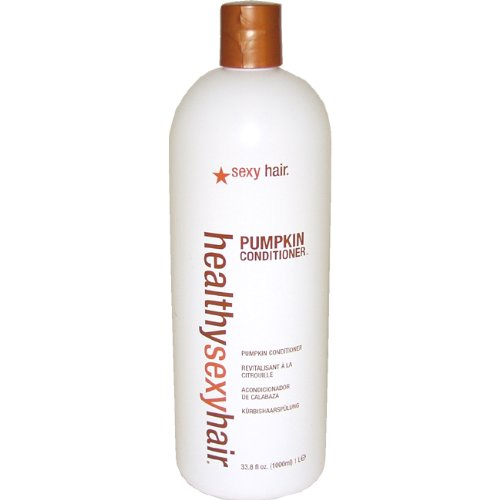 Healthy Sexy Hair Pumpkin Conditioner Unisex by Sexy Hair, 33.8 Ounce by Sexy Hair