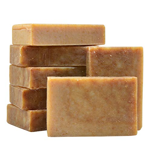 SIMPLICI Oatmeal Honey Bar Soap Bulk Box 7 bars