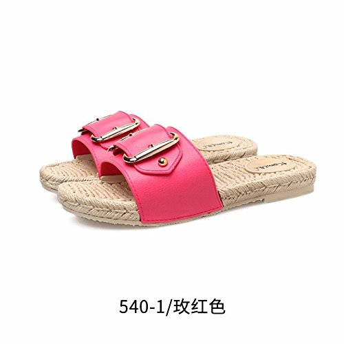 LIUXINDA Rojo de Playa Productos XZ Las Mujeres Moda Zapatos española Nuevos de gF6gwAqxB
