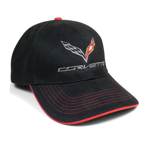(Chevrolet Corvette C7 Premium Structured Baseball Cap )