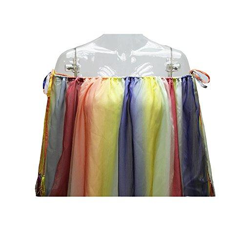 Damen Kleider Chiffonkleid Minikleid Strandkleid Boot Hals Schulterfrei Lockere Zweilagig Durchsichtig In Farbe